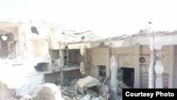 Разрушенная мечеть в Сирии, октябрь 2015 года.