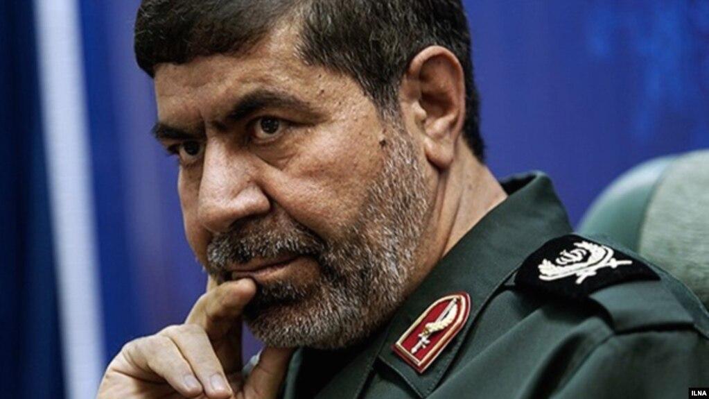 Ramazan Sharif, the head of the Iranian Revolutionary Guards Corps (file photo)
