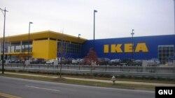Один из мебельных салонов шведской компании IKEA