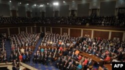 U.S. - US President Barack Obama addresses a Joint Session of Congress about the US economy and job creation at the US Capitol in Washington, DC, 08Sep2011