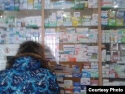Фото автора. Аптека під прапором «ДНР» з «московськими» цінами на ліки
