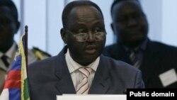 Орталық Африка Республикасының бұрынғы президенті Франсуа Бозизе.