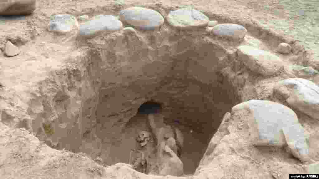 Нарын. Археологические раскопки