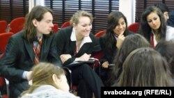 На міжнароднай студэнцкай канфэрэнцыі ў Гаазе