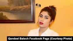Pakistani model Qandeel Baloch was found strangled in 2016.