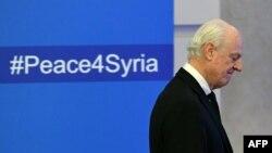 I deleguari i OKB-së për Sirinë, Staffan de Mistura