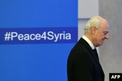 UN envoy for Syria Staffan de Mistura says he was optimistic the cease-fire can be secured throughout Syria if the parties can agree to a monitoring mechanism.