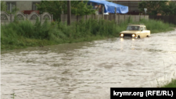 Crimea - Flooding in Simferopol - 9Jun2015