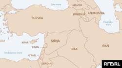 INFOGRAFIKA-Sporazum Sajks-Piko: Bliski istok nakon 100 godina