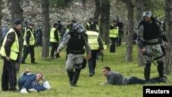 Меѓуетнички инцидент на скопското Кале во февруари 2011 година.