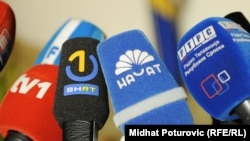 Mikrofoni televizijskih kuća u BiH, fotoarhiv