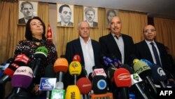 Թունիսի Ազգային երկխոսության քառյակի կազմակերպությունների ղեկավարները, արխիվ