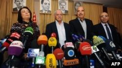 Нобель атындагы Тынчтык сыйлыгынын жаңы лауреаты-Тунистин улуттук диалог квартетинин мүчөлөрү.