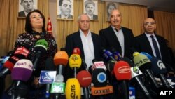 Представители Квартета национального диалога Туниса. Иллюстративное фото.