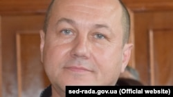 Ukrainian city councilor Serhiy Samarskiy (file photo)