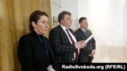 Посол Гайді Грау (ліворуч) – новий представник голови ОБСЄ на переговорах у Мінську, 18 грудня 2019 року