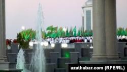 День флага, Ашхабад (архивное фото)