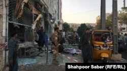 Afghanistan - Heavy explosion in Herat city killed 4 and injured 12 others on Thursday 09August2018 انفجار در هرات