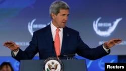 Госсекретарь США Джон Керри. Вашингтон, 16 июня 2014 года.