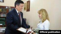 Фото пресс-службы правительства КР.