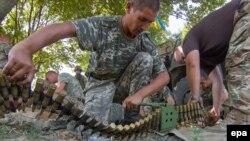 Українські військові на позиціях на Донбасі, архівне фото