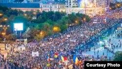 Protestul se adaugă mitingurilor succesive împotriva exploatării aurului de la Roșia Montana
