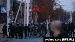 Protest anti-Lukașenka în Minsk, 25 octombrie 2020