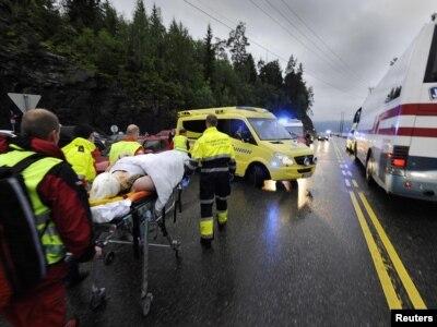 Hitna pomoć zbrinjava povređene u kampu blizu Osla