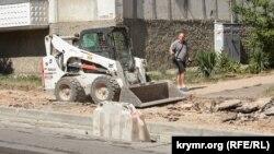 Реконструкція вулиці Льва Толстого в Севастополі