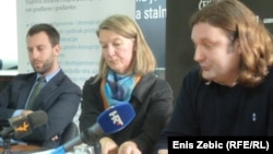 Marko Sjekavica, Vesna Teršelič i Mladen Stojanović
