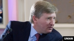 Ukrainian billionaire Rinat Akhmetov (file photo)