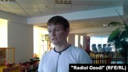 Александр Содиқов баъди раҳоияш аз боздошт