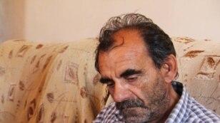 Отец убитого журналиста Расима Алиева,  Мамедали Алиев