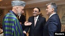 Presidentët e Afganistanit, Pakistanit dhe Turqisë sot në Ankara.