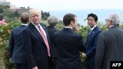 Donald Tramp na sastanku Grupe 7 na Siciliji