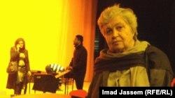 الفنانة ناتاشا الراضي في المسرح الوطني ببغداد