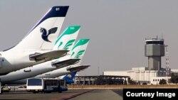 Аэропорт Мехрабад в Тегеране