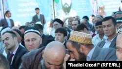 Ҳамоиши таҷлили 40-солагии Ҳизби наҳзат дар Душанбе
