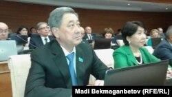 Бывший спикер мажилиса парламента Казахстана Бактыкожа Измухамбетов.