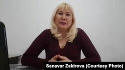 Алматы тұрғыны Санавар Закирова.