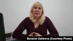 Жительница Алматы Санавар Закирова, объявившая о создании партии «Наше право».