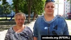 Аксана Філіпенка і Алена Грынько