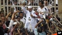 Индийский борец с коррупцией Анна Хазаре