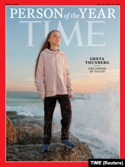 Экоактивистка Грета Тунберг стала человеком года по версии журнала Time