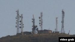 Радиорелейная станция на горе Унгар-Тоо.