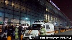 """Аэропорт """"Домодедово"""" 24 января 2011"""