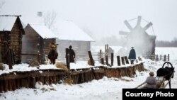 """""""Тубыл"""" фильмын төшерү. Семён Конев фотосы"""