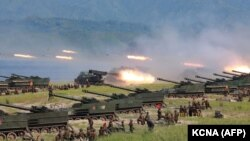 Pamje ilustruese nga Koreja Veriore.