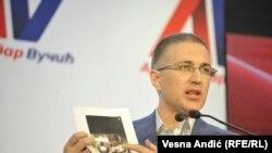 Nebojša Štefanović, ministar unutrašnjih poslova Srbije