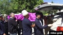 Похороны юной Бурулай